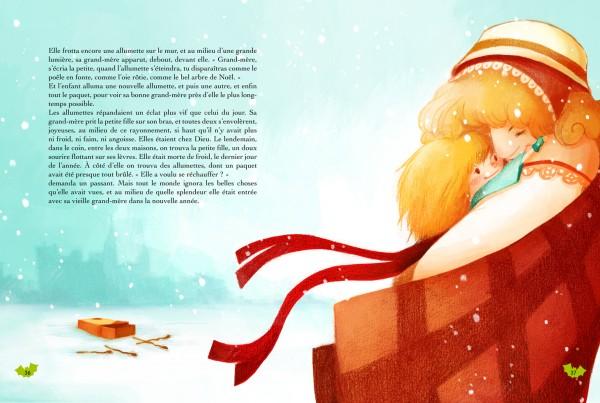 La petite fille aux allumettes 03-petit
